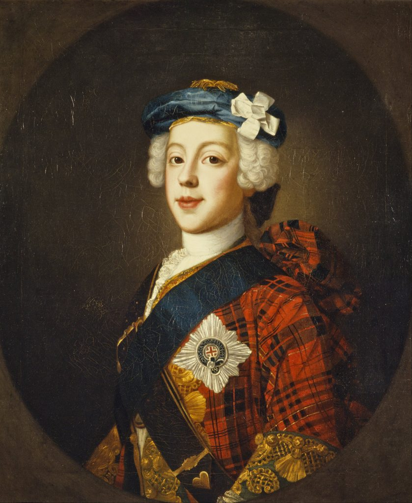 Le Prince Charles Edward Stuart par William Mosman (XVIIIe siècle)