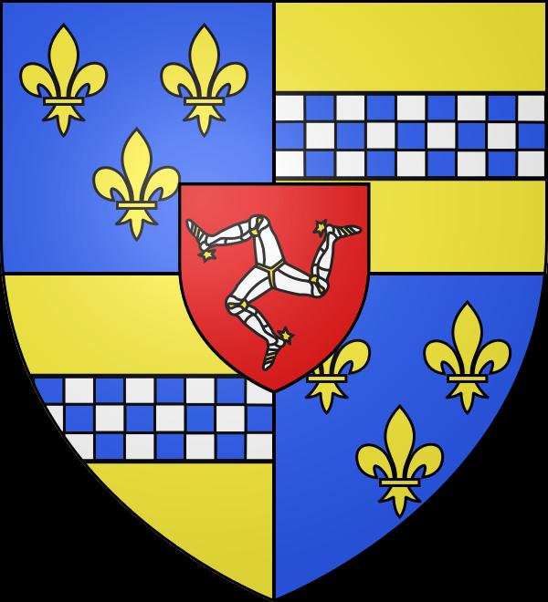 Blason de jean Stuart, comte de Buchan