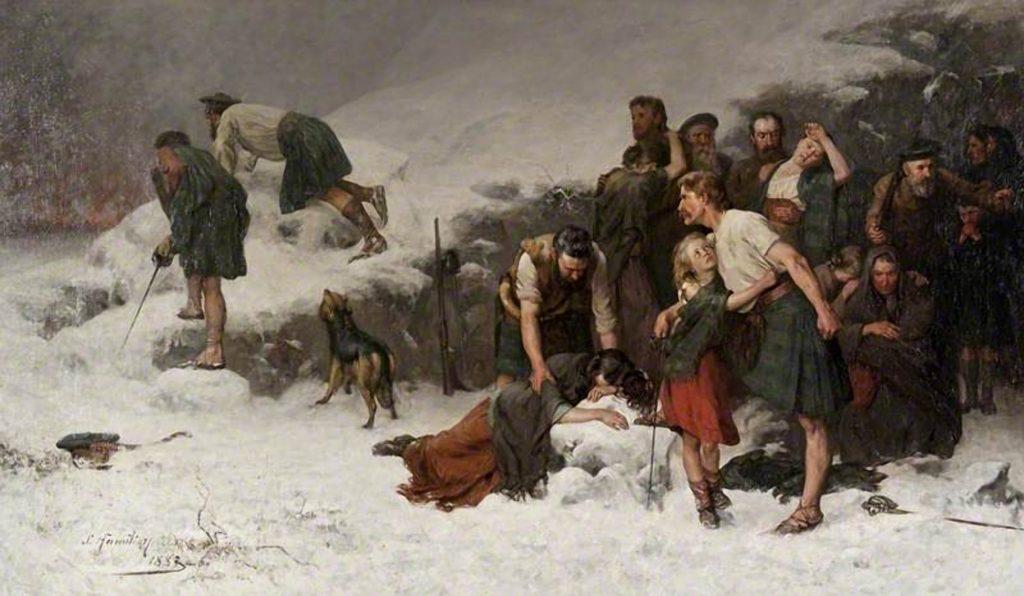 The Massacre of Glencoe par James HAMILTON, 1883-86 (Glasgow museums)