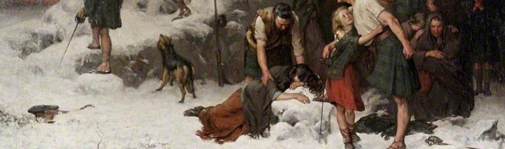 Hamilton, James; The Massacre of Glencoe; Glasgow Museums; http://www.artuk.org/artworks/the-massacre-of-glencoe-84359