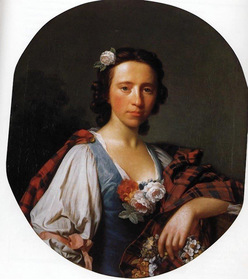Flora MacDonald, par Allan Ramsay, XVIIIe iècle