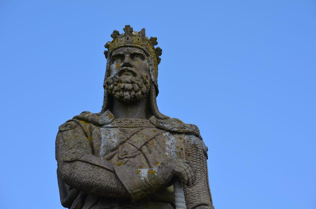 Statue de Robert the Bruce au château de Stirling, auteur et date inconnue